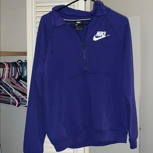NWOT Nike half zip pullover